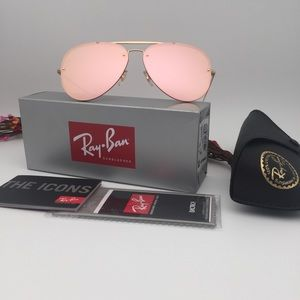 Ray-Ban Accessories   Rb3584n 9052e4 6113 New Pink   Poshmark c7035f3a5138